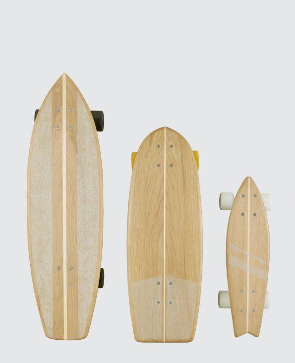Longboard bois massif Français