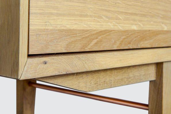 Enfilade design scandinave cuivre