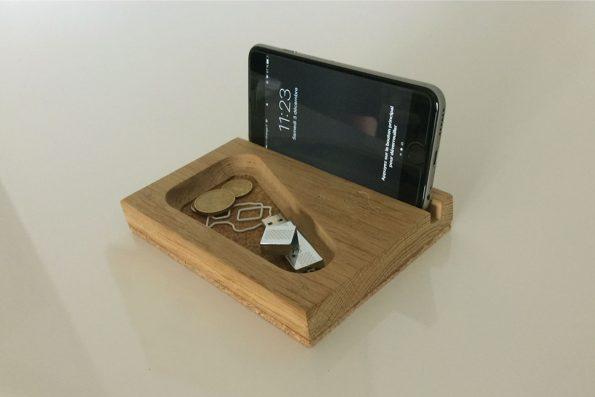 Station smartphone bois liège